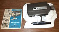 Vintage Bell & Howell Autoload 311G Super 8mm Cartridge Movie Camera Orig Manual