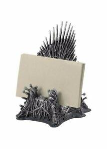 TRONO 12cm Porta Biglietti Da Visita Trono Di Spade Game Of Thrones ORIGINALE
