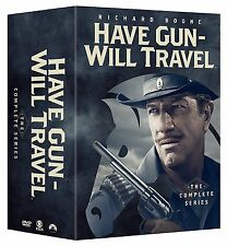 "HAVE GUN WILL TRAVEL COMPLETE SERIES COLLECTION DVD BOX SET 35 DISCS ""NEW"""