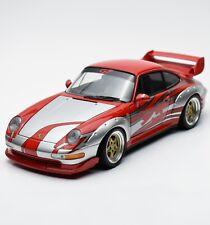 UT 39631 Porsche 911 GT2 Street Raciing - Version in rot silber, 1:18, OVP, K016