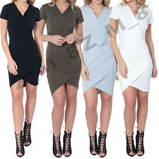 Unbranded V-Neck Wrap Casual Dresses for Women