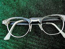 vintage cat  eye glasses frame.