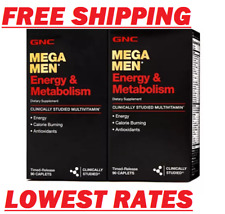 GNC Mega Men Energy & Metabolism Multivitamins - 180 ct. FREE SHIPPING