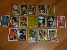 LOT PU05 DRAGON BALL Z DBZ PP AMADA CARDDASS CARD 13 PRISM + 4 REG CARTES