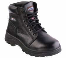 Womens Skechers 76561 PERIL Steel Toe Memory Foam Comfort Work Boots