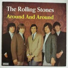 The Rolling Stones Around and Around LP Alemania Reedición años  '70