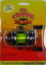 Mr Crappie Slab Shaker Crappie Reel SS1 Pre Spooled Compact & Strong Metal Frame