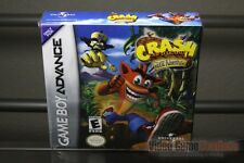 Crash Bandicoot: The Huge Adventure (Game Boy Advance, 2002) H-SEAM SEALED!
