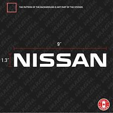 2X NISSAN sticker vinyl car decal