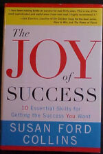 "SUSAN FORD COLLINS SIGNED ""THE JOY OF SUCCESS"" 2003 1st EDITION HC BOOK w/DJ!"