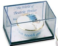 Reutter Porcelain Peter Rabbit 1st Tooth & Curl Box  NEW Baby Gift