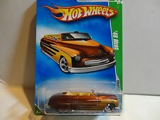 2009 Hot Wheels Treasure Hunt #51 Brown '49 Merc