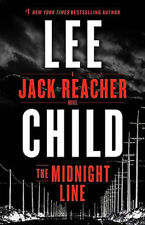 The Midnight Line: A Jack Reacher Novel By Lee Child - First Edition Hardcover