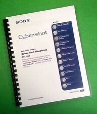 "LASER 8.5X11"" Sony DSC H50 Camera 154 Page Owners Manual Guide"