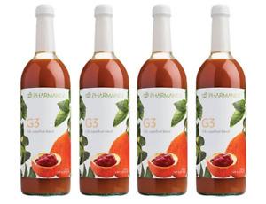 (4 Bottles) NU SKIN (NuSkin) Pharmanex G3 Juice