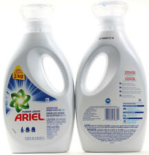 2 Ariel Power Liquid Concentrated Laundry Detergent Removes Tough Stains 33.81oz