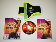 Nintendo Wii Spiel ZUMBA Fitness Vol 1 Join the Party + Hüftgürtel ~5828