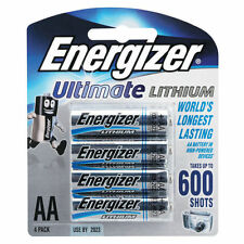 ENERGIZER ULTIMATE LITHIUM AA 4 PACK REPLACEMENT BATTERIES