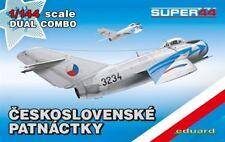Eduard 4441 1:144th scale super44 Ceskoslovenske Patnactky Dual Combo 2 kits