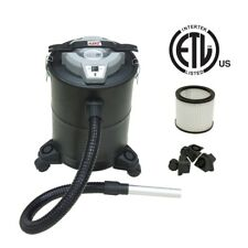 ALEKO ETL Fireplace Grill Ash Vacuum Multipurpose Cleaner On Wheels 5 Gallons