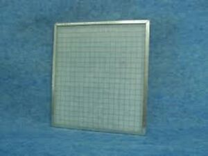 metal cased panel filter 597x597x45 spray booth filter panel removable pad