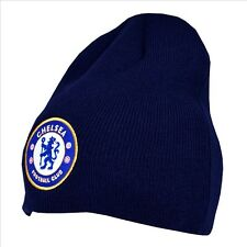 Official Chelsea Football Club Blue Basic Beanie Winter Hat