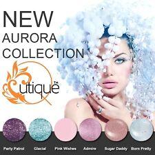 QUTIQUE Gel Nail Polish AURORA Colour Collection, Pack, Set, Kit