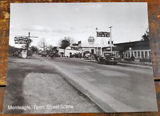 Monteagle Diner Hotel Gulf Gas Station Marion or Grundy County TN Postcard Card