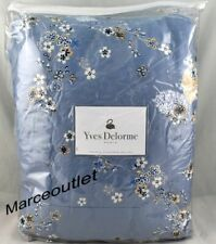 New ListingYves Delorme Paris Ramage Full / Queen Quilted Coverlet Opalia Blue