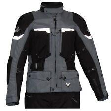Stadler-Motorradbekleidung Stadler Voyager GTX Jacke Stahlgrau / Schwarz 48