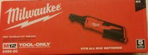 "Milwaukee  M12 Cordless 1/4"" Ratchet M12 Tool-Only 2456-20"