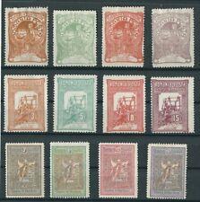ROMANIA 1906 Mi. 161-164 , Mi. 165-168 , Mi. 173-176 (3 complete sets) MINT VF