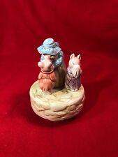 Vintage Schmid Beatrix Potter Music Box Aunt Pettitoes and Pigs Spoonful Sugar