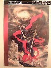 X 1999 Art Crystal Clear Poster Cel Shitajiki Clamp