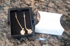FREE Shipping NEW in BOX AVON Jewelry Sparkle Drop Linear Earrings Goldtone L@@K