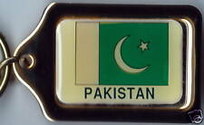 Islam-i Jamhuriya-e Pakistan Solid Brass Key Chain NEW