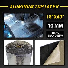 """10MM 18""""x40"""" Firewall Sound Deadener Car Heat Shield Insulation Deadening Mat"""