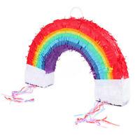 Big Rainbow Pinata Childrens Birthday Traditional Party Novelty Gay Pride Game