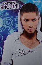 STEVEN BERISA - Autogrammkarte - Party Bruder Autogramm Clippings Fan Sammlung