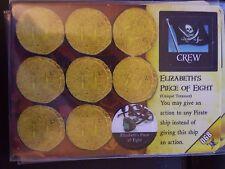 Wizkids Pirates of the Caribbean #068 Maccus / Elizabeth's Piece of Eight CSG