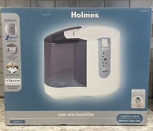 NEW IN BOX Holmes HM1850 Cool Mist Humidifier Microban Hygrometer 4 Gallon