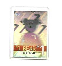 SUPER RARE Ty Series 2 EU GREEN #1 BEAR Rare Bear Beanie Babies Card 154/180