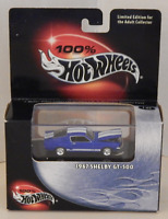 1967 Shelby GT-500 Muscle Car 100% Hot Wheels Black Box Adult Collector