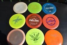 USED 9 disc golf lot Discmania Innova Prodigy Discraft