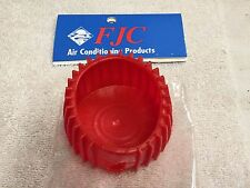 "Gauge Cover, A/C, High-Side, For 2-1/2"" Gauges, Part# 6142 Red Rubber, FJC, INC."