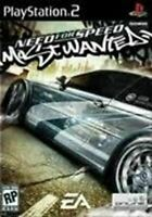Need For Speed Most Wanted - Authentic Sony Playstation 2 PS2 Game