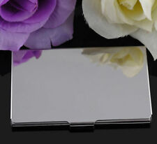 Stainless Steel Pocket Name Credit ID Business Card Holder Box Metal Case Fad S#