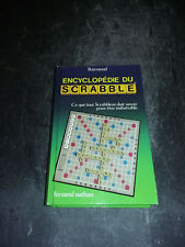 Encyclopédie Scrabble - Avec envoi (Guy Bonnet) M. Raymond - fernand nathan1982