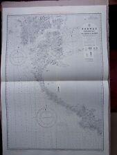 "1971 SW NORWAY COAST The NAZE ~ KARMO Navigational SEA Chart MAP 28"" x 41"" B69"