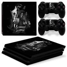 Sony PS4 Playstation 4 Pro Skin Aufkleber Schutzfolie Set - Game Over Motiv